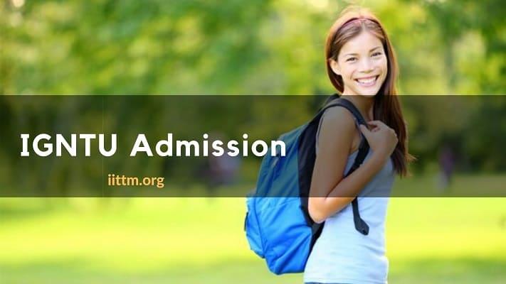 IGNTU Admission