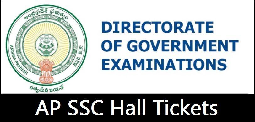 AP SSC Hall Tickets