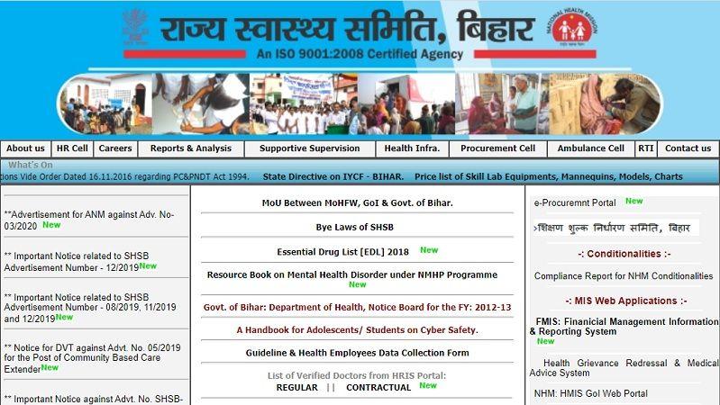 Bihar ANM Vacancy