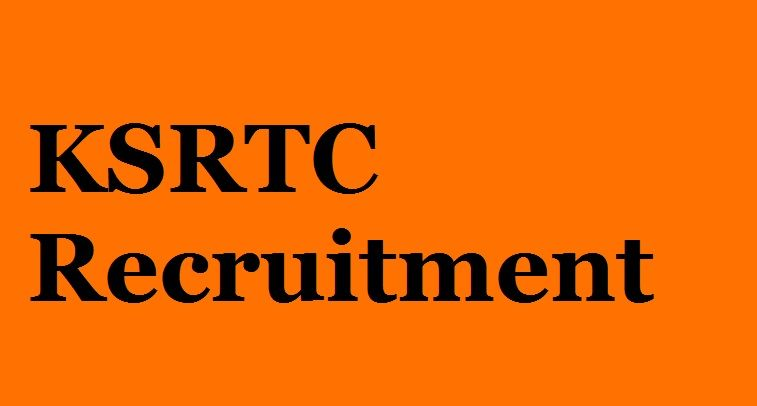 KSRTC Recruitment