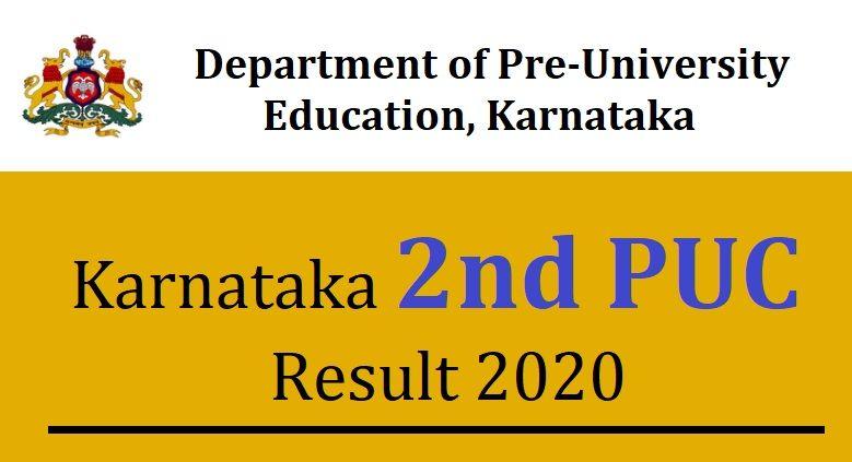 Karnataka 2nd PUC Result