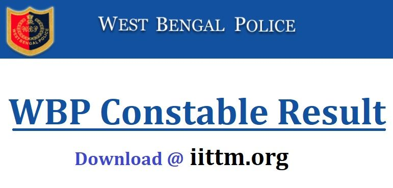 WBP Constable Result