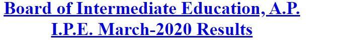 BIEAP Results 2020