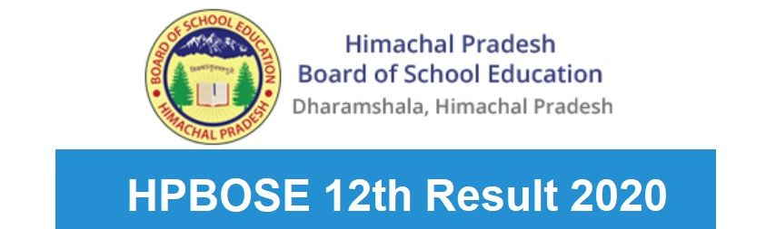 HPBOSE 12th Result 2020 Date & Time