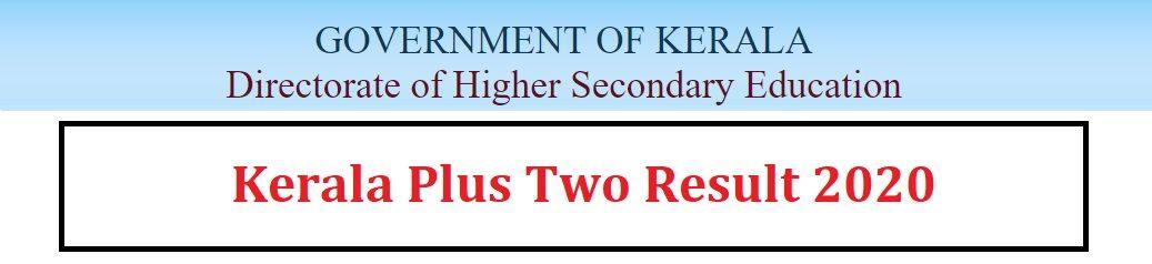 Kerala Plus Two Result 2020