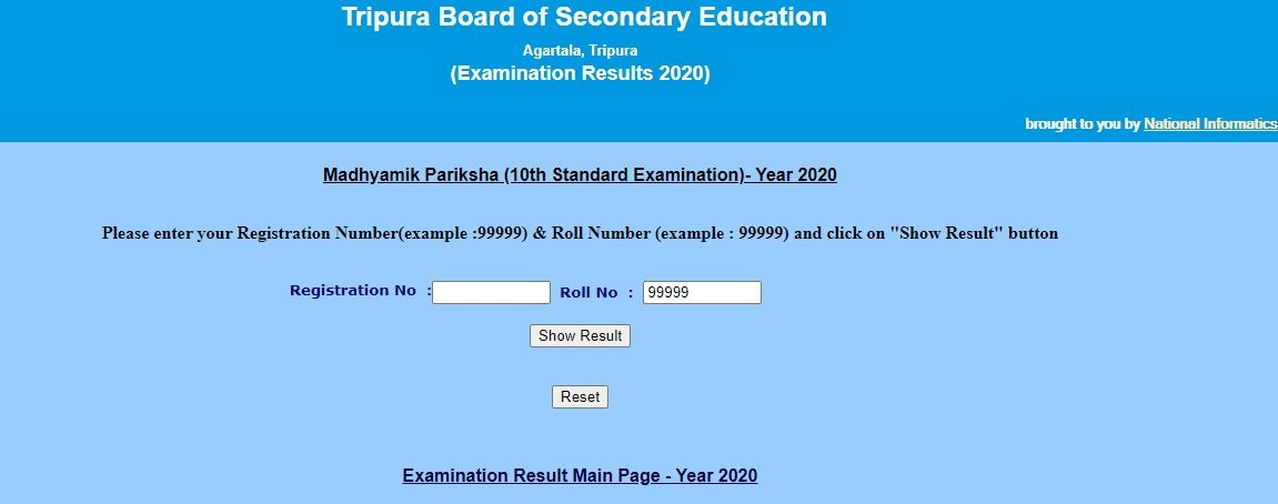 TBSE Madhyamik Result 2020 Announced