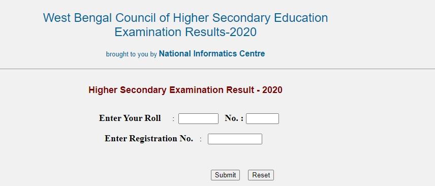 WB HS Result 2020