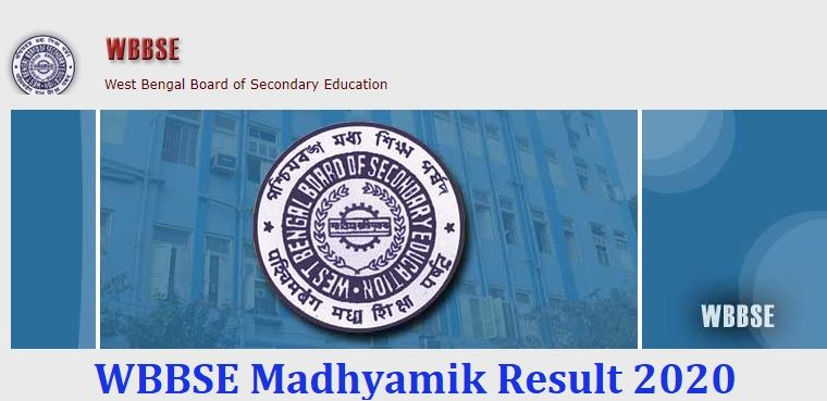 WBBSE Madhyamik Result 2020