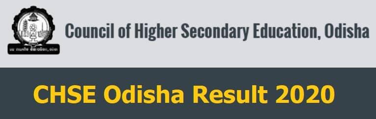 CHSE Odisha Result 2020