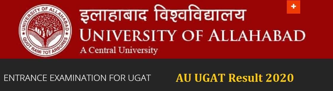 Allahabad University UGAT Entrance Exam Result 2020