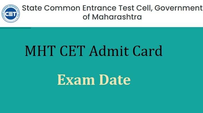 MHT CET Admit Card