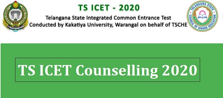 TS ICET Counselling 2020