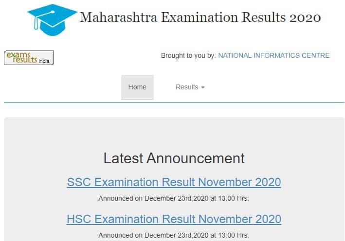 Maharashtra HSC & SSC Supplementary Result 2020