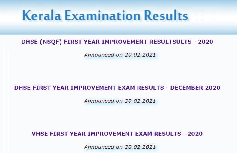 DHSE First Year Improvement Results 2021