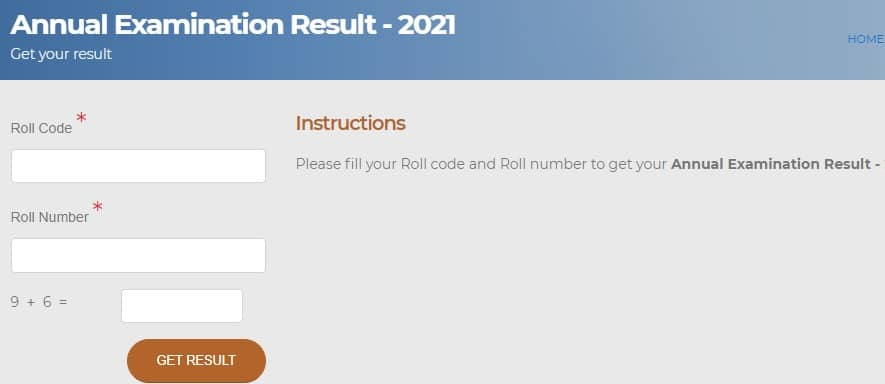 BSEB 10th Annual Examination Result 2021 Out onlinebseb.in