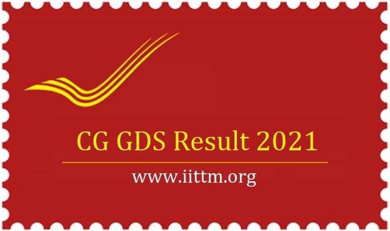CG GDS Result 2021