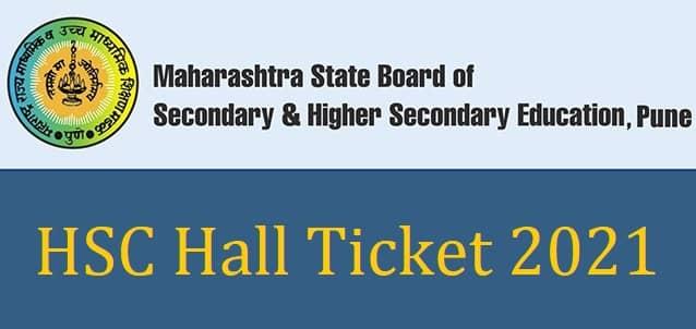 HSC Hall Ticket 2021 Maharashtra Download PDF