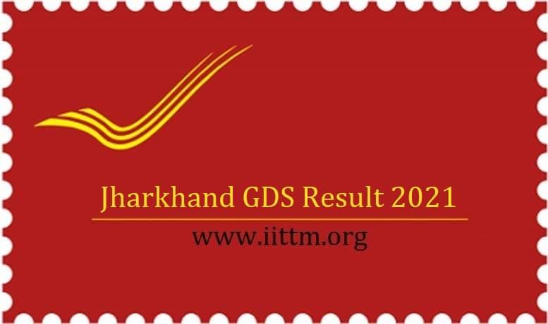 Jharkhand GDS Result 2021