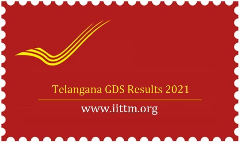 Telangana GDS Results 2021 TS GDS Results appost.in
