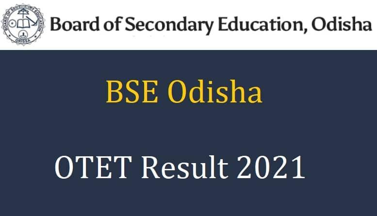 OTET Result 2021