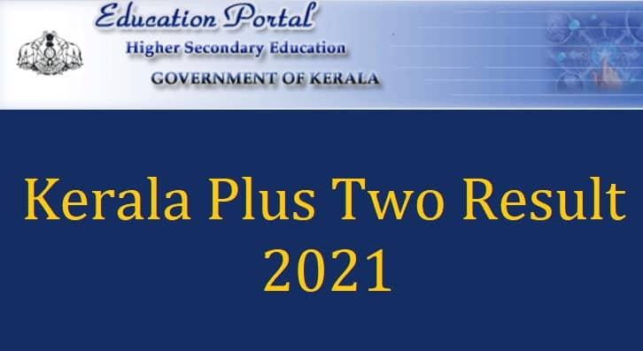 Kerala Plus Two Result 2021