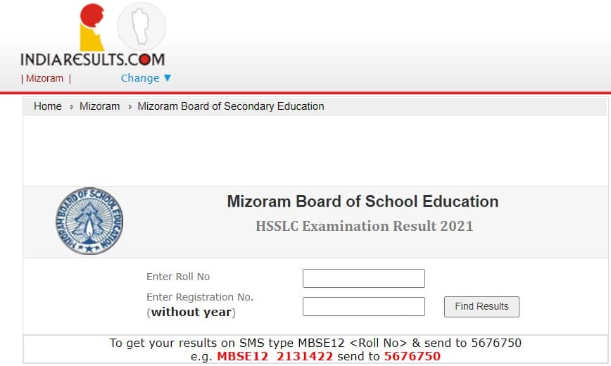 MBSE HSSLC Result 2021 Indiaresults