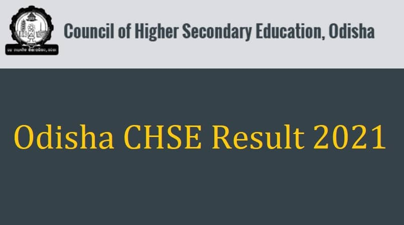 Odisha CHSE Result 2021
