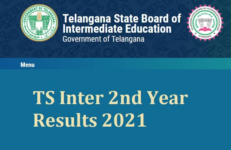 TS Inter 2nd Year Results 2021