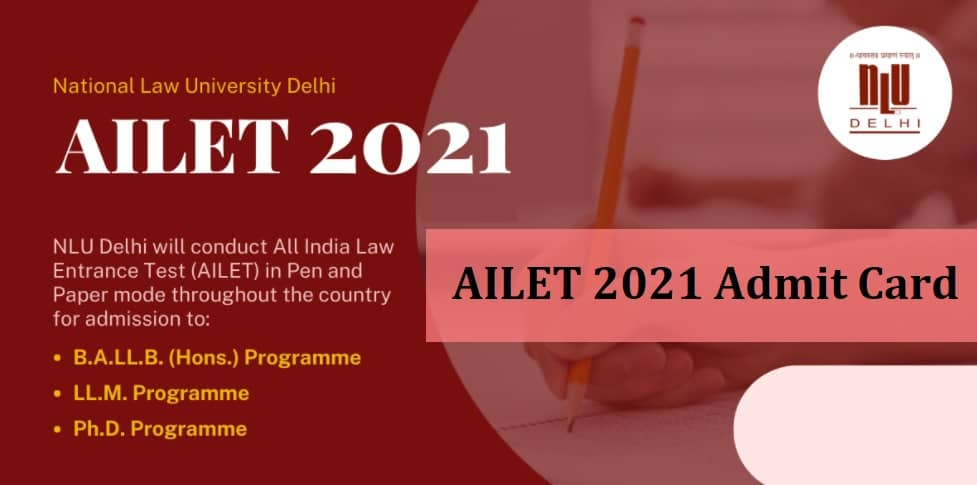 AILET Admit Card 2021