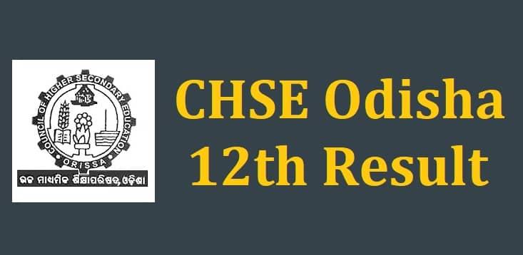 CHSE Odisha 12th Result