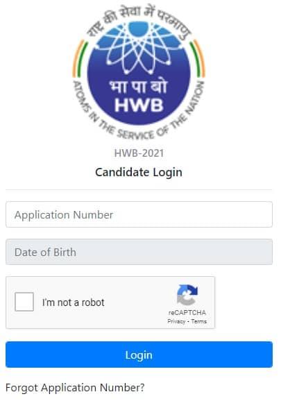 HWB Admit Card 2021