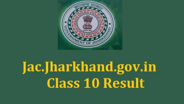 JAC.jharkhand.gov.in Class 10 result