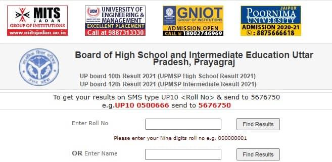 Original high marksheet board download up school UP Board