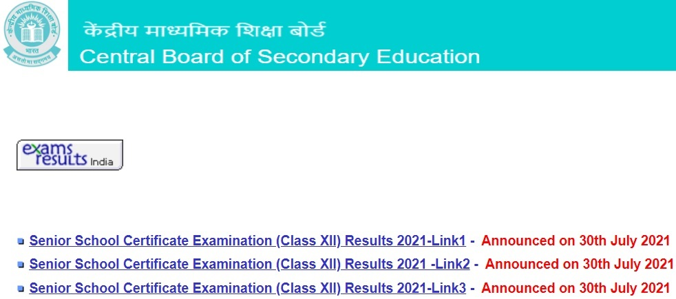 www.cbse.nic.in 12th result