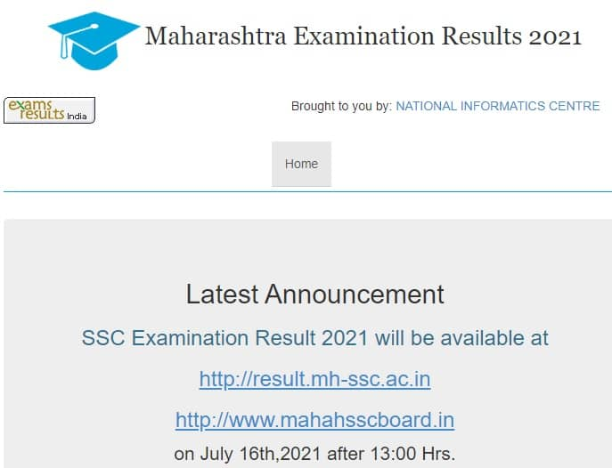 mahahsscboard.in ssc result 2021 result.mh-ssc.ac.in