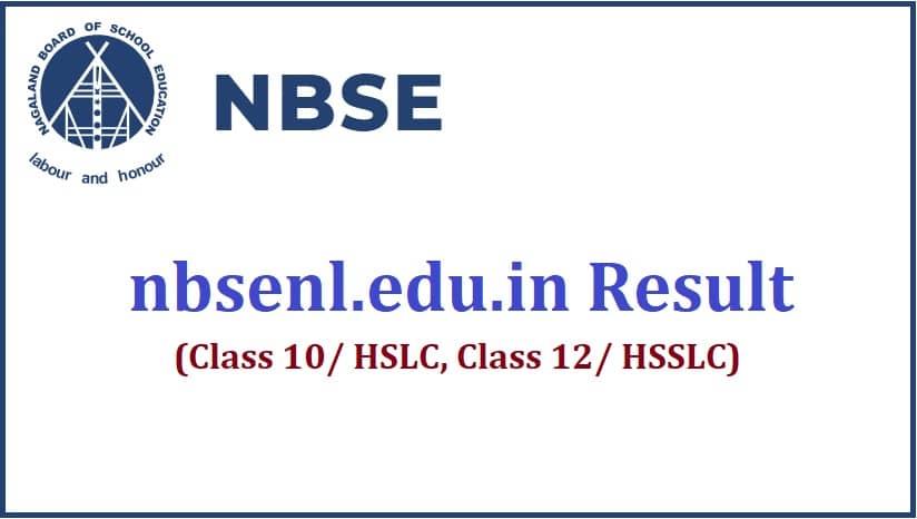 nbsenl.edu.in result