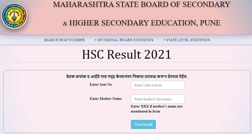 result.mh-hsc.ac.in 2021 hsc result