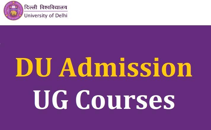 DU Admission UG