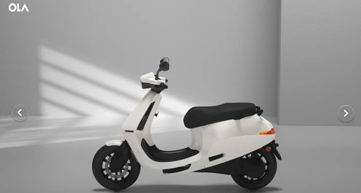 OLA Electric Scooter Booking