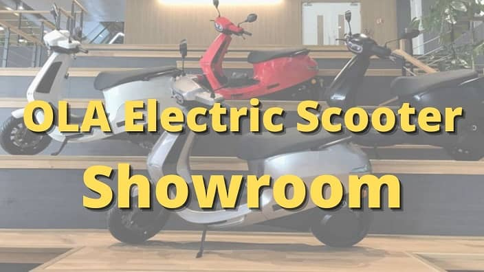 OLA Electric Scooter Showroom