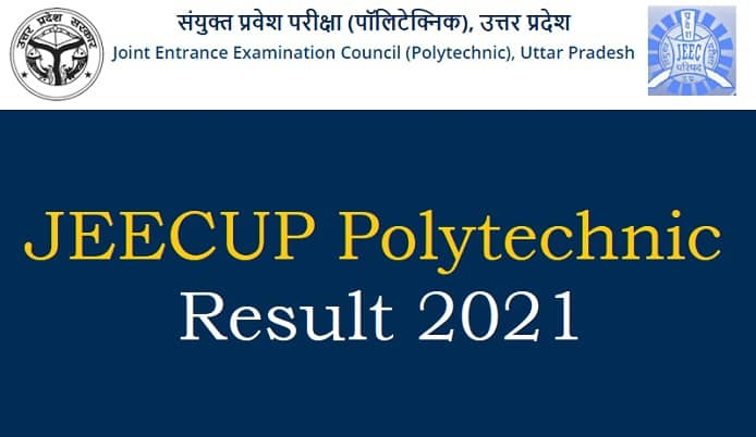 JEECUP Polytechnic result 2021