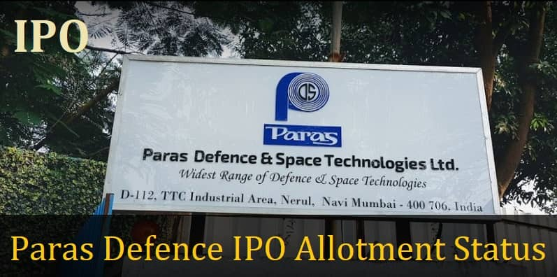 Paras Defence IPO Allotment