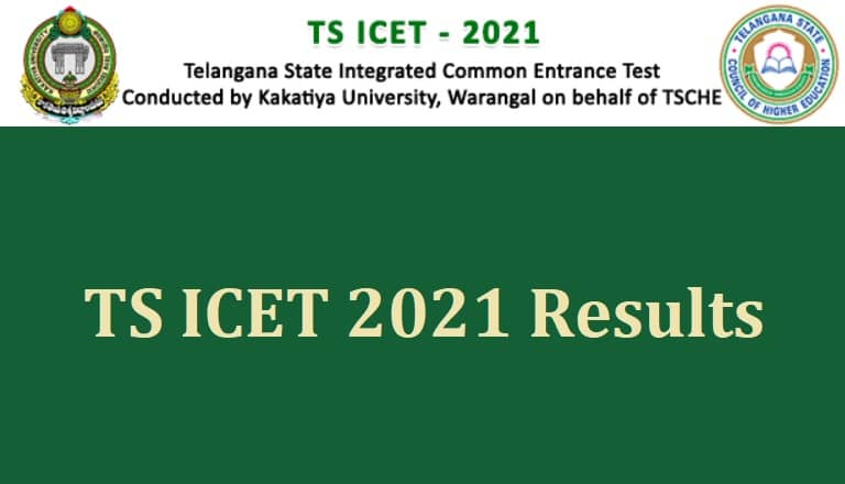 TS ICET 2021 Results
